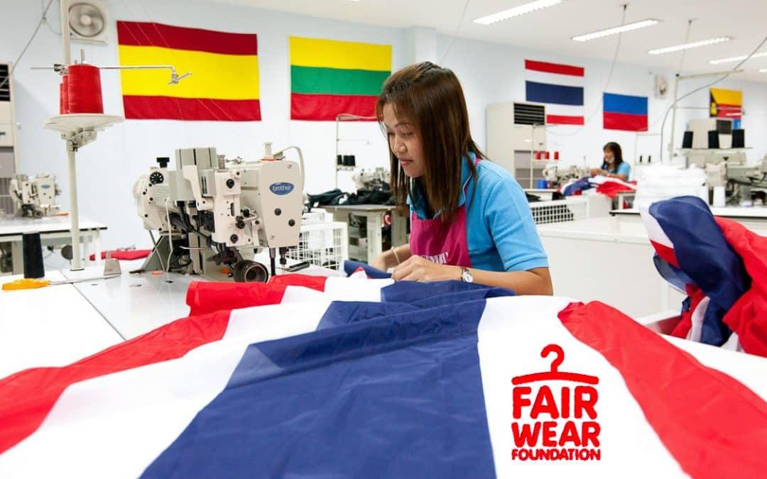 "Faber uppnådde Fair Wear Foundations ""Leader status"""