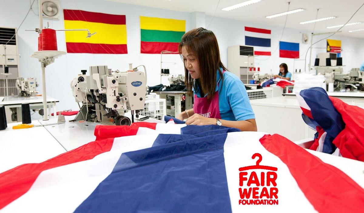 Tillverkning flaggor