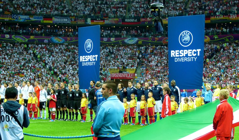 Inddor Banner and Flags Arena UEFA EURO 2012-2