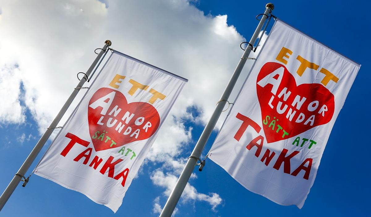 Reklamflaggor