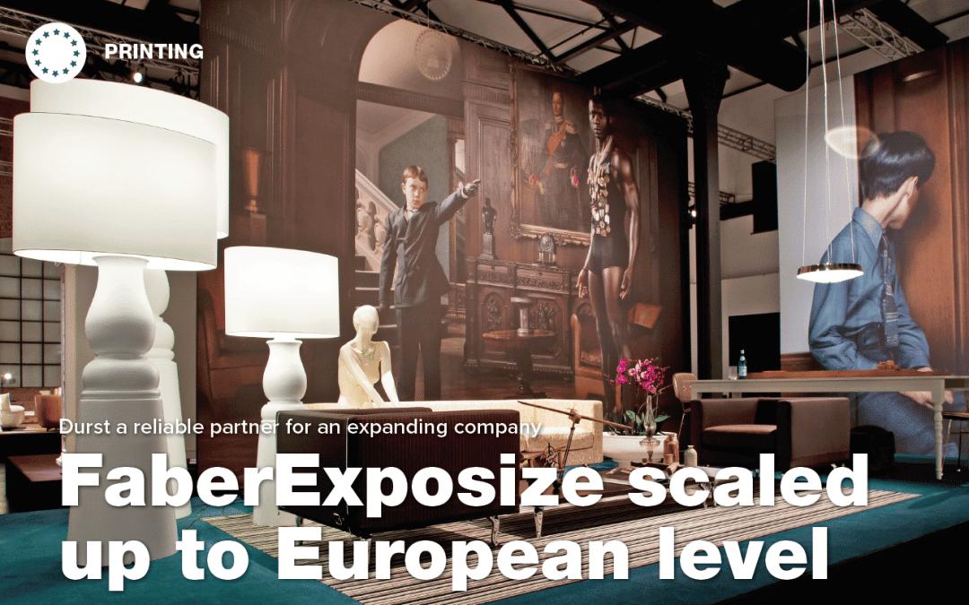 Faber Exposize till Europeisk nivå