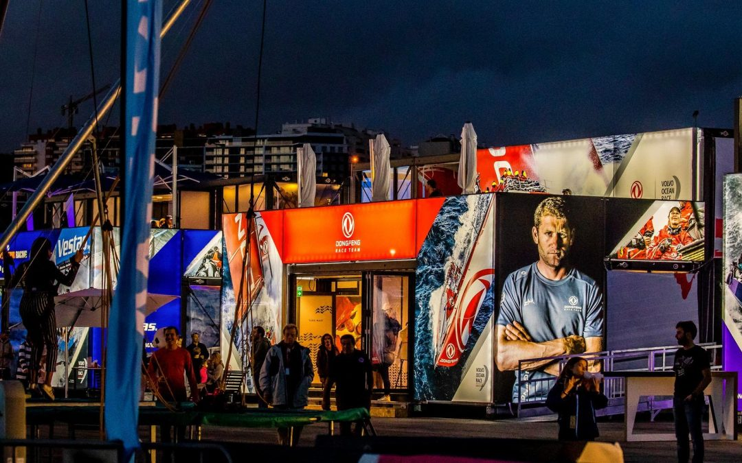 Volvo Ocean Race branded by FaberExposize – your signage printing expert