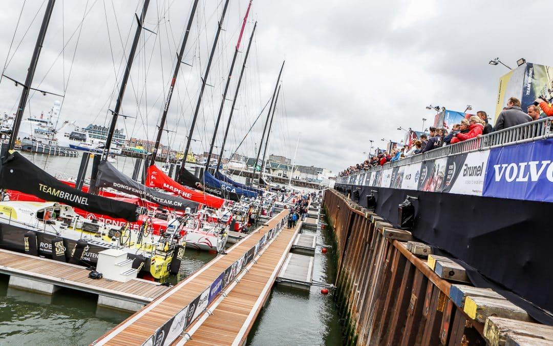 Faber Flags, stolt leverantör av Volvo Ocean Race 2014-2015
