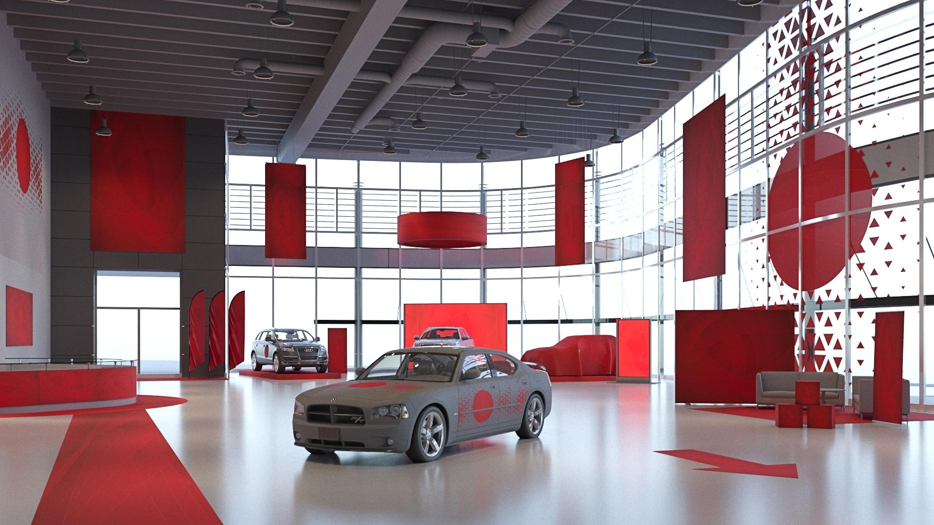 Bilhall inomhus - klicka här